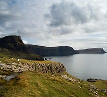 Beautiful view, Isle of Skye by Claire Tennant