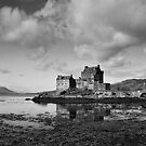 Moody Eilean Donan by Claire Tennant
