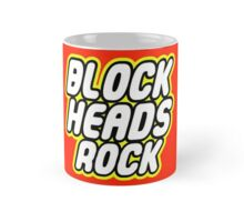 BLOCK HEADS ROCK Mug