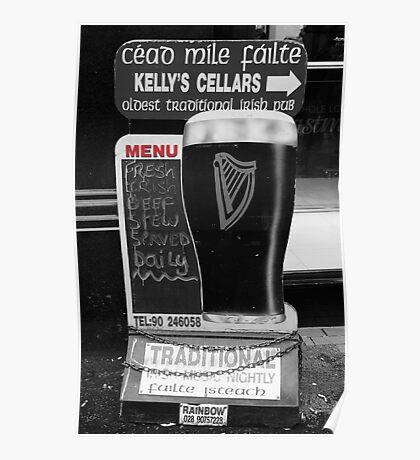 Belfast 6.12.09 - Menu Poster