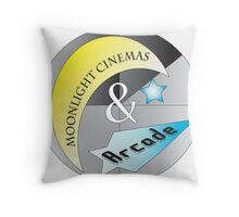 Moonlight Cinemas and Arcade Throw Pillow