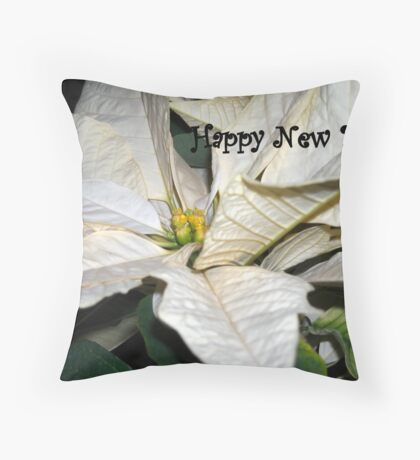 Happy New Year! Throw Pillow