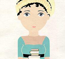 Jane Austen by creotumundo