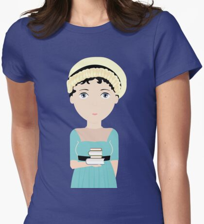 Jane Austen Womens Fitted T-Shirt