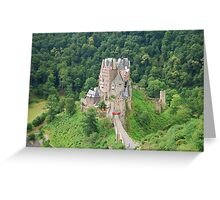 Burg Eltz - a view Greeting Card