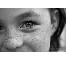 Irish Eyes Photographic Print