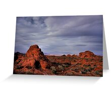 In the Valley of Fire Greeting Card