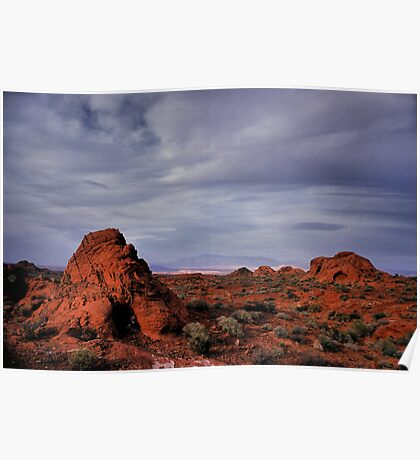 In the Valley of Fire Poster