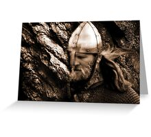 The Viking Warrior Greeting Card