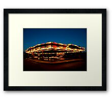 Dodgems Framed Print