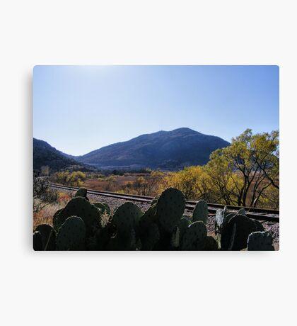Quartz Mountain Canvas Print