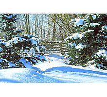 Idaho Winter Scene 2, USA Photographic Print