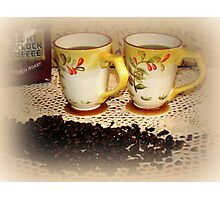 Coffee For You And me Photographic Print