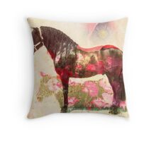 pura raza Throw Pillow