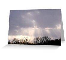 Rays of Sun Greeting Card