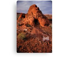 Rock Mound in the Valley of Fire, Nevada Canvas Print