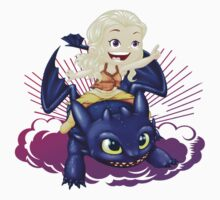 Elsa and Toothless Train Dragon Kids Clothes