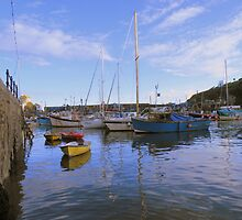 Cornwall: At the Water's Edge in Mevagissey by Rob Parsons