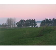 Dawn Light, Waitomo, New Zealand  Photographic Print