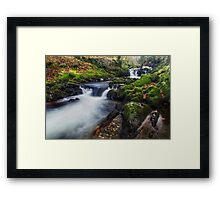 A Stream of Snowdon Framed Print