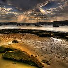 Sunshine  Melody - Paradise Beach, Sydney - The HDR Experience by Philip Johnson