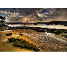 Sunshine  Melody - Paradise Beach, Sydney - The HDR Experience Photographic Print