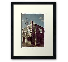 Caring is Creepy... Framed Print