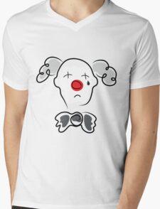 Portrait of a sad clown  Mens V-Neck T-Shirt