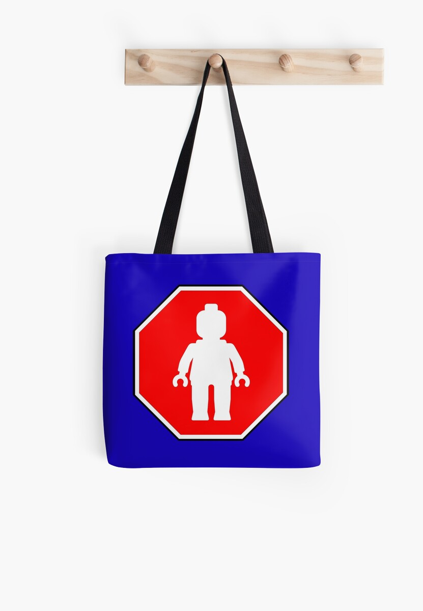 MINIFIG ROADSIGN by Customize My Minifig