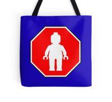 MINIFIG ROADSIGN Tote Bag