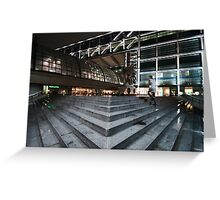 Berlin Hauptbahnhof Greeting Card