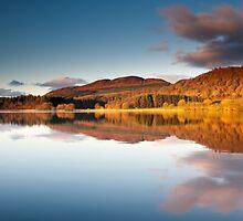 Winter sunrise, Lake of Menteith, Scotland by Michael Marten