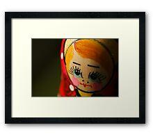 Matryoshka doll Framed Print