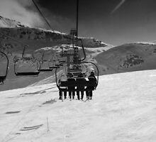 One Way Ski Trip by williamkuhl