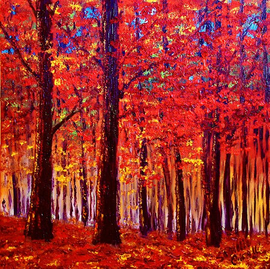 The Rustling Maple Leaves by sesillie
