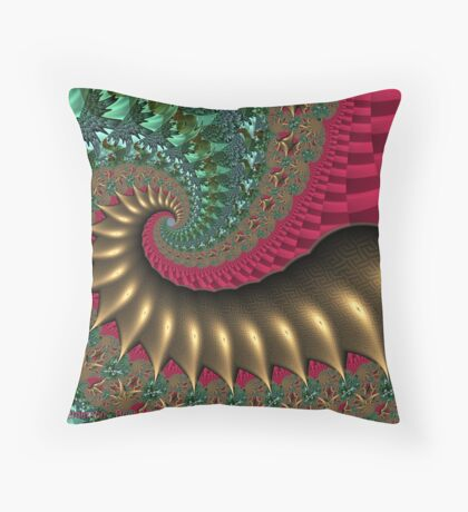 Caroling Throw Pillow