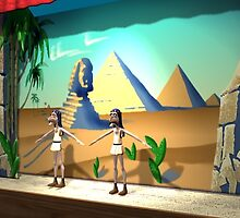 SAND DANCE 3D CG MODEL by DilettantO