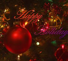 Happy Holidays by Barbara  Brown