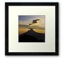 a desolate Congo landscape Framed Print