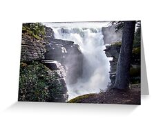 Athabaska Falls(2) Greeting Card