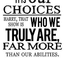 Albus Dumbledore Quote - Harry Potter by KyouuSunshiine