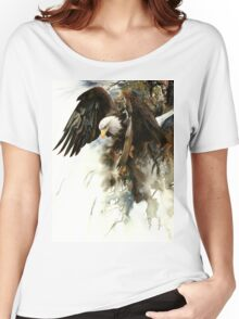 High And Mighty T-shirt femme coupe relax
