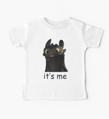 Toothless Its Me Face Baby Tee