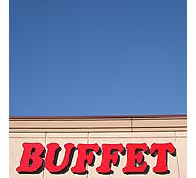 Buffet Photographic Print