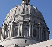 Missouri State Capitol  by Margie Peters