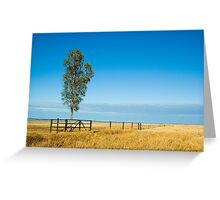 Outback Plains Greeting Card