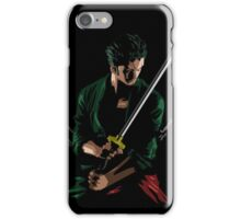 Zoro Sword Master iPhone Case/Skin
