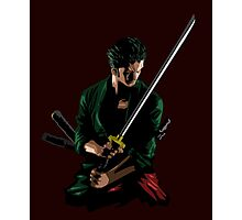 Zoro Sword Master Photographic Print