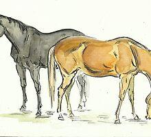 """""""Horses"""" by Yanina Antsulevich"""