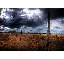 Ominous in the Valley Photographic Print